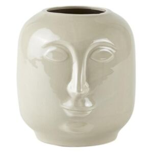 Villa Collection Květináč Hlava Cream 18,6 cm