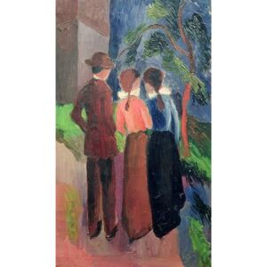 Obraz, Reprodukce - The Walk, 1914, August Macke