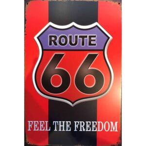 Cedule Route 66 Feel The Freedom