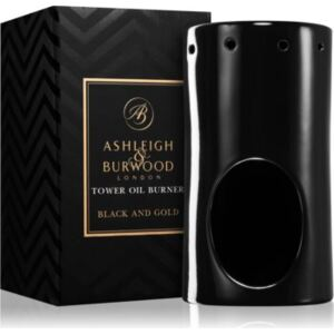 Ashleigh & Burwood London Black and Gold keramická aromalampa