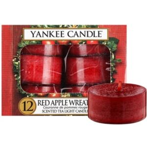 Yankee Candle Red Apple Wreath čajová svíčka 12 x 9.8 g