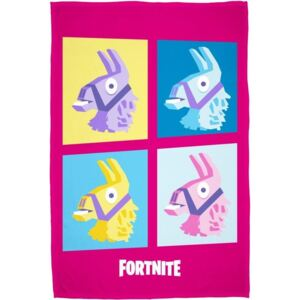 HALANTEX Fleece deka Fortnite Lama pink 100% Polyester, 100/150