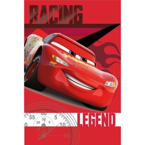 JERRY FABRICS Fleece deka Cars legend 100% Polyester, 100/150
