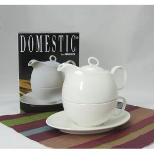 Domestic TEA FOR ONE Konvička 55cl s šálkem 35cl a podšálke MH005924