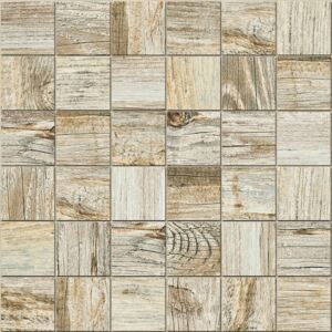 Mozaika Fineza Timber Design moonlight 30x30 cm mat TIMDEMOSML