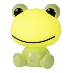 LUCIDE DODO Frog Table Lamp LED 3W H30cm Green, stolní lampa