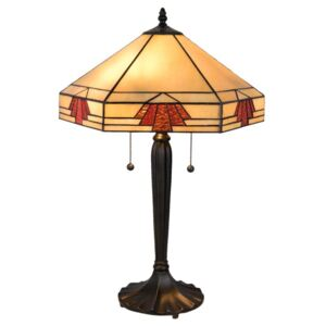 Clayre & Eef - Stolní lampa Tiffany 5LL-5201
