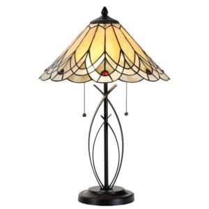 Clayre & Eef - Stolní lampa Tiffany 5LL-5186