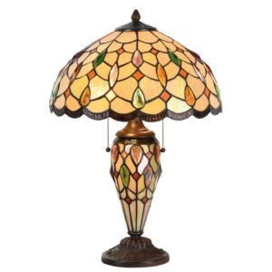 Clayre & Eef - Stolní lampa Tiffany 5LL-5182