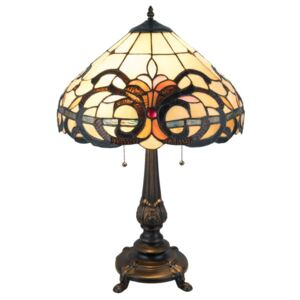 Clayre & Eef - Stolní lampa Tiffany 5LL-5924