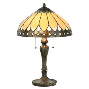 Clayre & Eef - Stolní lampa Tiffany 5LL-5184