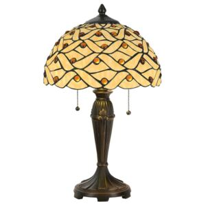 Clayre & Eef - Stolní lampa Tiffany 5LL-5181