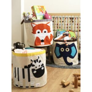 3 sprouts 3 Sprouts Storage Bin 15574-Fox