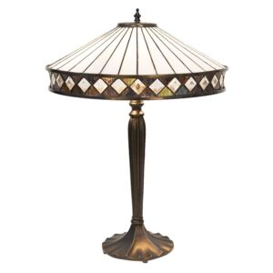 Clayre & Eef - Stolní lampa Tiffany 5LL-5983