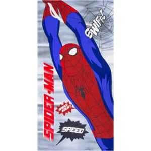SUN CITY Osuška Spiderman / ručník Spiderman Speed mikrovlákno 70x140