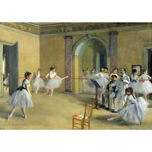 Obraz, Reprodukce - The Dance Foyer at the Opera on the rue Le Peletier, 1872, Edgar Degas