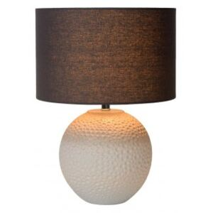 LUCIDE SALLY Table Lamp E27 H40,5cm Cream, stolní lampa
