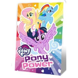 EUROSWAN Fleece deka My Little Pony Polyester 100/150 cm