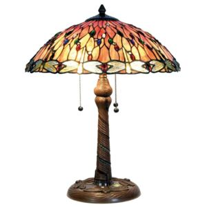 Clayre & Eef - Stolní lampa Tiffany 5LL-5466