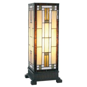 Clayre & Eef - Stolní lampa Tiffany 5LL-5445