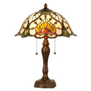 Clayre & Eef - Stolní lampa Tiffany 5LL-5390
