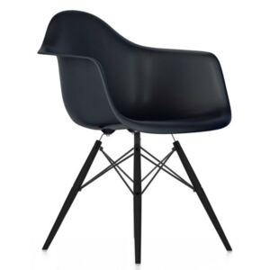 Židle Eames DAW, basic dark - black maple Vitra