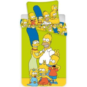 Jerry Fabrics Povlečení The Simpsons Family