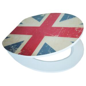 Union Jack EDHGUJ01 MDF, WC sedátko softclose Eisl Sanitär