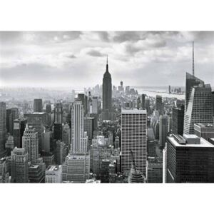 Fototapeta New York Black and White, rozměr 368 cm x 254 cm, fototapety Sunny Decor SD323