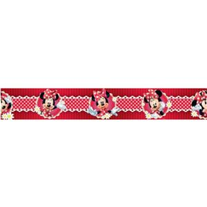 Samolepící bordura Minnie Mouse 801 5 m x 10,6 cm IMPOL TRADE