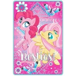 SUN CITY Fleecová / fleece deka My Little Pony Pinkie Pie 100x150