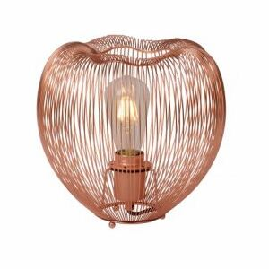 LUCIDE WIRIO Table Lamp E27 H24 D25cm Copper, stolní lampa