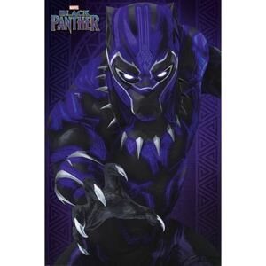 Pyramid International Plakát Marvel: Black Panther Glow