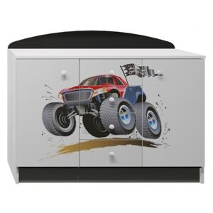 Komoda MONSTER TRUCK - TYP B