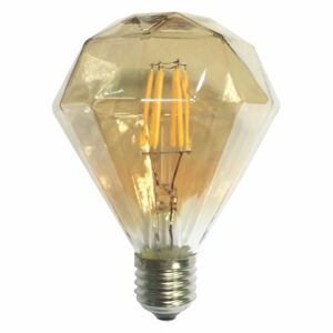 Diolamp LED Decorative E27 Gold retro LED žárovka