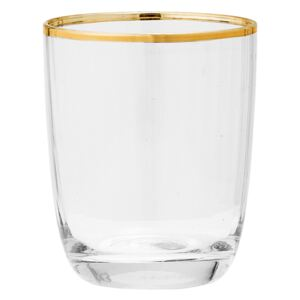 Sklenice Clear gold