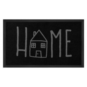 Hanse Home Collection koberce Rohožka Printy 103801 Anthracite Grey Rozměr: 45x75
