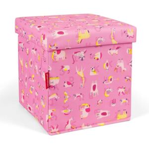 Krabice Reisenthel Sitbox kids Abc friends pink
