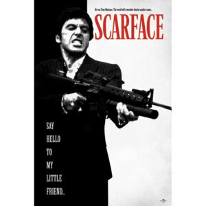 Plakát Scarface: Say Hello To My Little Friend (61 x 91,5 cm)