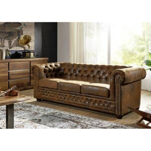 Chesterfield Oxford: Pohovka 3M Brown