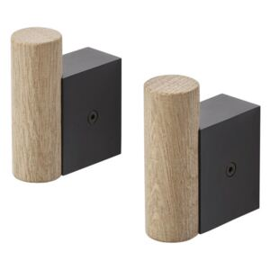 Muuto Věšák Attach, black/oak