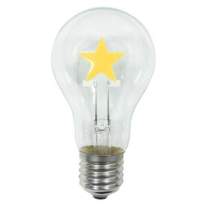 ACA DECOR LED žárovka Filament STAR E27 2W