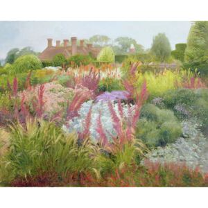 Timothy Easton - Obraz, Reprodukce - Spires of Kniphofia and Great Dixter