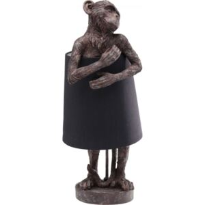 KARE DESIGN Stolní lampa Animal Monkey Brown Black