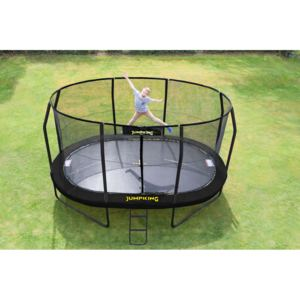 JUMPKING Trampolína JumpKing OVAL-POD 3 x 4,5 m, model 2016