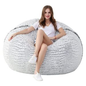 Sedací vak BeanBag Air Big white gray