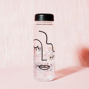 Lahev na vodu Abstract Face 500ml