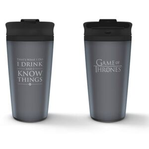 Pyramid International Cestovní hrnek Game of Thrones - I Drink And I Know Things 425ml