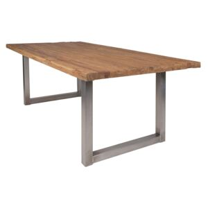 SIT MÖBEL Jídelní stůl TABLES & BENCHES RAW RECTANGLE 180 × 100 × 76 cm, Vemzu