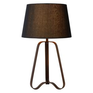 LUCIDE Stolní lampa CAPUCINO - Rust Brown